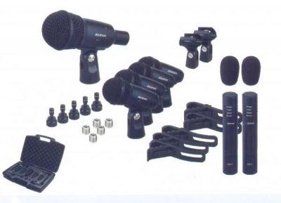 Alctron - ALCTRON T8400 - 7 Parça Davul Mikrofonu