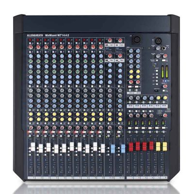 Allen & Heath - Allen & Heath MixWizard WZ4 14:4:2 12 Kanal Mixer