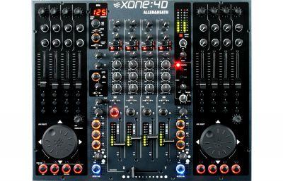 Allen & Heath - Allen & Heath - XONE:4D DJ Mikser + USB Ses Kartı