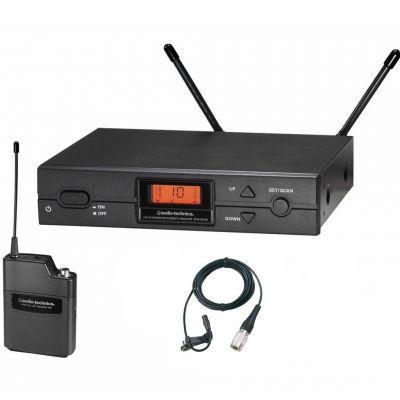 Audio-Technica - Audio-Technica ATW-2110A/P1 Kardioid Kondenser Yaka / Lavalier Kablosuz Mikrofon