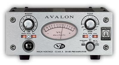 Avalon - AVALON V5 Mic Preamp / DI - Mikrofon Preamfisi / DI Box