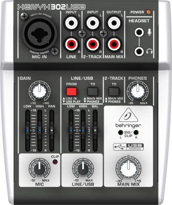 Behringer - Behringer 302USB 2 Kanal USB Stüdyo Mikseri