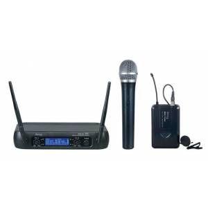 Denox - Denox MDR-220 Kablosuz El + Yaka Mikrofonu