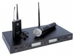 Doppler - Doppler DM-502HB Çift Anten Tek El Tek Yaka Telsiz Mikrofon