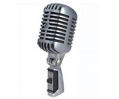 Doppler - Doppler RT-65 Nostaljik Mikrofon Gri veya Sarı