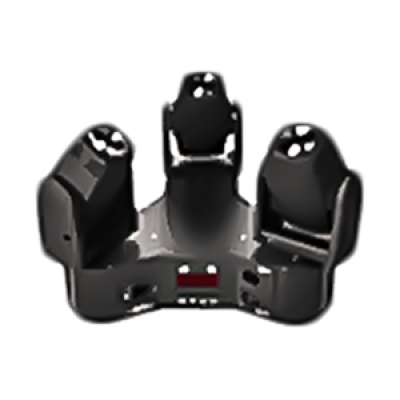 Eclips - Eclips Trio Beam RGBW 3x10w Led Robot Işık Sese Duyarlı otomatik