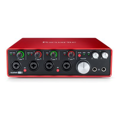 Focusrite - Focusrite Scarlett 18i8 MK2 - 18-giriş / 8-çıkış USB 2.0 Ses Kartı