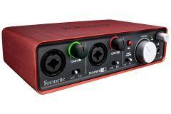 Focusrite - Focusrite Scarlett 2i2 Studio Pack MK2