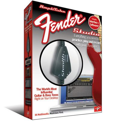 IK Multimedia - IK Multimedia AmpliTube Fender Studio VST