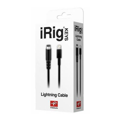 IK Multimedia - IK Multimedia Lightning'den Mini-DIN'e Kablo