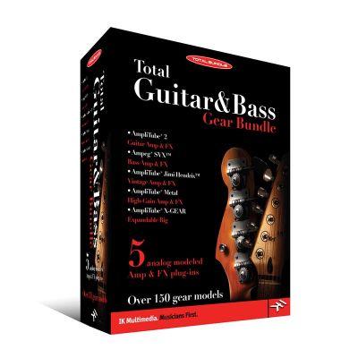 IK Multimedia - IK Multimedia Total Guitar & Bass Bundle