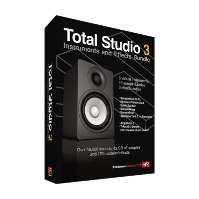 IK Multimedia - IK Multimedia Total Studio 3 Bundle