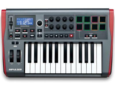 Novation - Novation Impulse 25 Midi Klavye ve Kontrol Cihazı