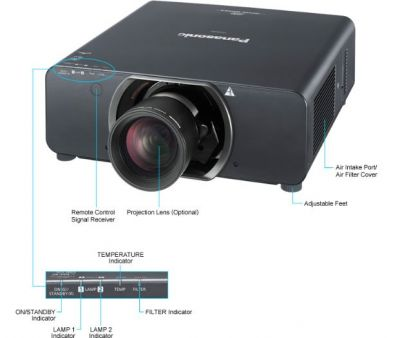 Panasonic - Panasonic PT-DW11K Projeksiyon