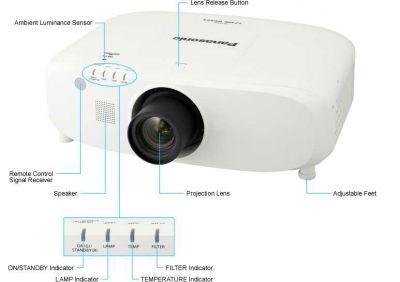 Panasonic - Panasonic PT-EX510 Projeksiyon