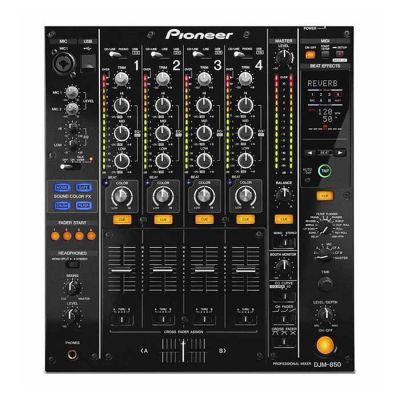 Pioneer DJ - Pioneer DJM-850 4 Kanal DJ Mikseri