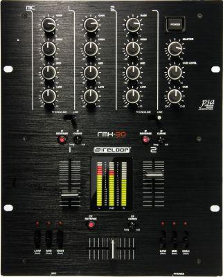 Reloop - Reloop RMX-20 BlackFire Edition Dj Mixer