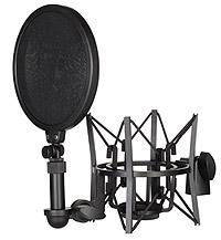 Rode - RODE SM6 - Shock Mount + Pop Filtre (NT1-A, NT2-A, NT1000, NT2000, NTK, K2, Podcaster ve Procaster)