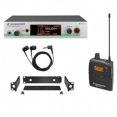 Sennheiser - Sennheiser EW-300 İn Ear monitör kulaklık