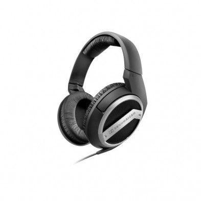 Sennheiser - Sennheiser HD 449 6.3mm adaptör Kulaküstü Kulaklık (Siyah, Gümüş) - 504766