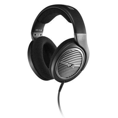 Sennheiser - Sennheiser HD 518 Kulaküstü Kulaklık (Siyah, Metalik Gri) - 504629