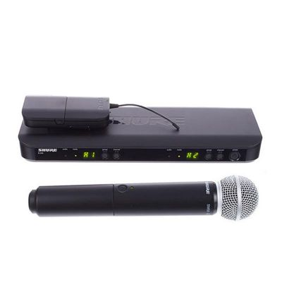 Shure - Shure BLX1288E/SM31 Kablosuz İkili EL ve Headset Mikrofon seti