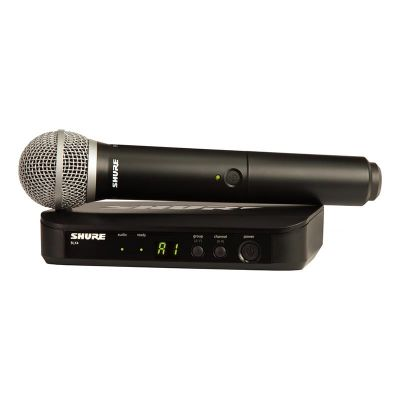 Shure - Shure BLX24E/PG58 Kablosuz PG 58 Kapsül El Mikrofonu
