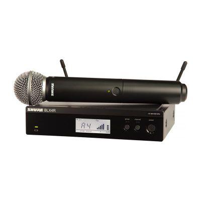 Shure - Shure BLX24RE/SM58 Rack Tipi Kablosuz SM58 kapsül El Mikrofonu