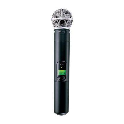 Shure - Shure SLX2/SM58 Dahili Vericili SM58 El Tipi Telsiz Mikrofon