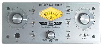 Universal Audio - UNIVERSAL AUDIO 710 Twin-Finity - Tube / FET Preamp / DI Box