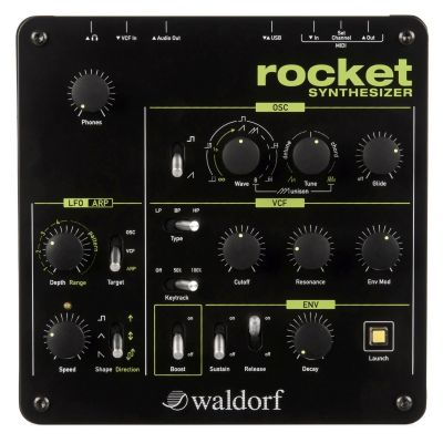 Waldorf - Waldorf Rocket Analog Synthesizer