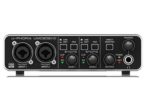 Behringer U-Phoria UMC202HD 2 Kanal USB Ses Kartı