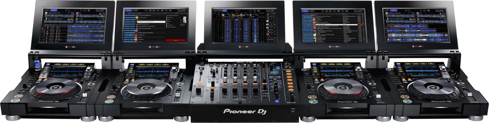 Pioneer CDJ-TOUR1 Katlanabilir Dokunmatik Ekranlı Player