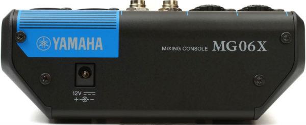 Yamaha MG06 X, 6 Kanal Deck Mikser
