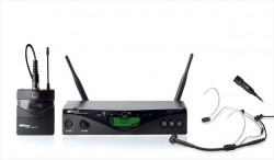 Akg - Akg - WMS 45 Perception UHF Headset Mikrofon