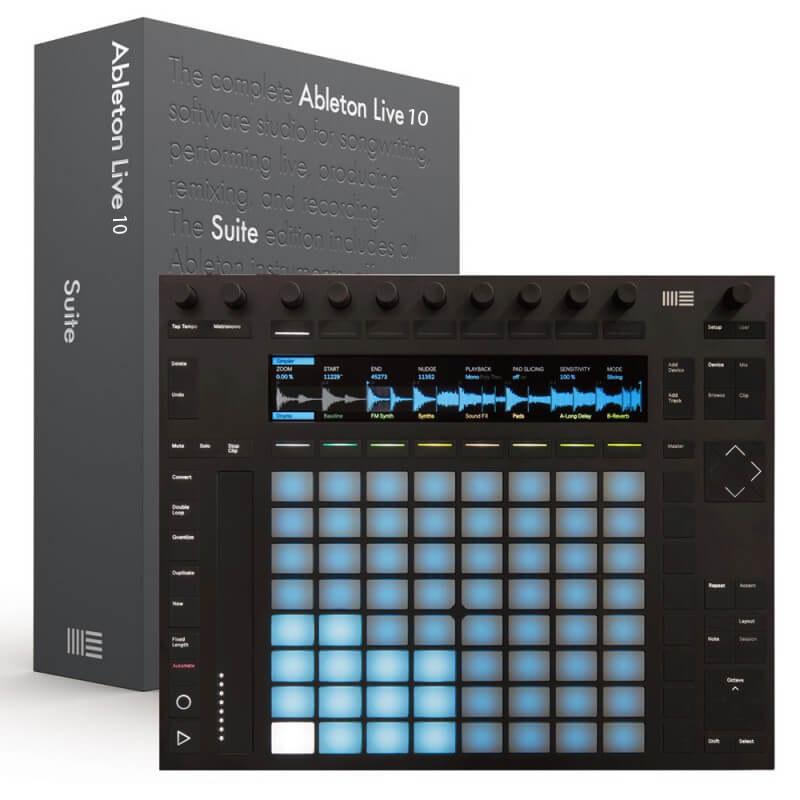 Ableton Push 2 + Live 10 Suite Yazılım Hediye