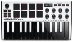Akai - AKAI MPKMINI 3 Beyaz MIDI Klavye