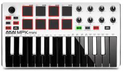 Akai - AKAI MPKMINI2 WHITE 25 Tuşlu MIDI Klavye