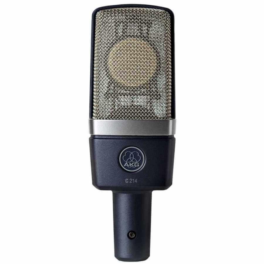 Akg C214 Stüdyo Kayıt Mikrofonu