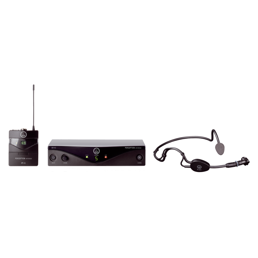 AKG - Perception Wireless 45 Sports Kablosuz Headset Mikrofon