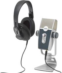 Akg - AKG Podcaster Essentials Lyra USB mikrofon ve K371 Kulaklıklı Set