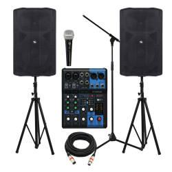 InfoMusic Ses Paketleri - Proel Flash Aktif 12′′ Etkinlik, Düğün, Konferans ve Okul Paketi