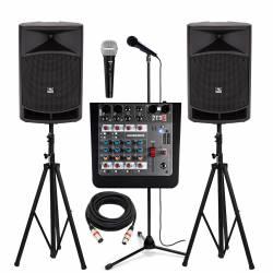 InfoMusic Ses Paketleri - Aktif 12'' Etkinlik, Düğün ve Okul Paketi
