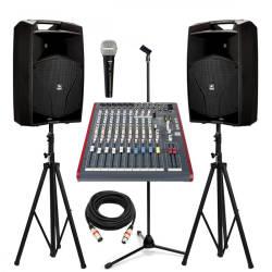 InfoMusic Ses Paketleri - Aktif 15'' Düğün Konferans Paketi