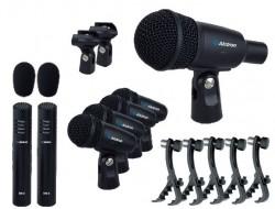 Alctron - ALCTRON T8500 - 7 Parça Davul Mikrofonu