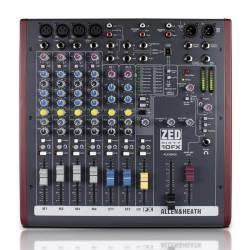 Allen & Heath - Allen & Heath ZED60-10FX Efektli 10 Kanal Ses Mixeri