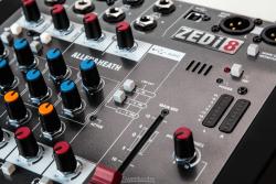 Allen & Heath ZEDi-8 8 Kanal Hybrid Compact Mikser - Thumbnail