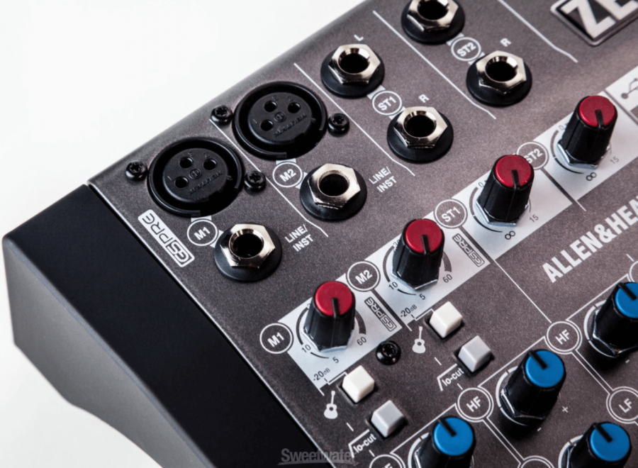Allen & Heath ZEDi-8 8 Kanal Hybrid Compact Mikser