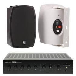 AMC - AMC Giriş Seviye Cafe-Mağaza Ses Sistemi (Sütun Hoparlörü)