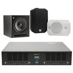 AMC - AMC Orta Seviye Cafe-Mağaza Ses Sistemi (Sütun Hoparlörü)